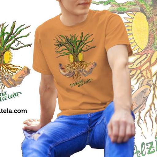 Camiseta Alzina del Vent-28 *SA/GOLD//B/N