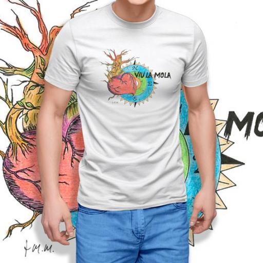 Camiseta Viu La Mola-COR 5 B/NAVY/GOLD