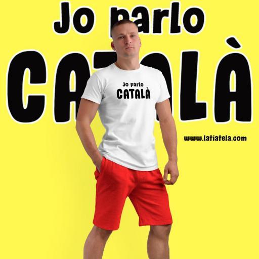 Camiseta Tecnica Jo parlo Català