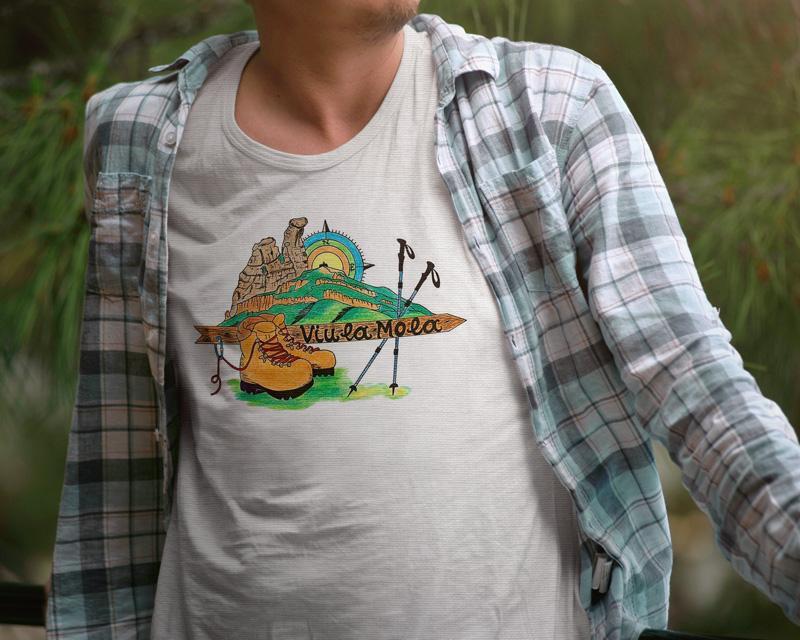 Camiseta La Castellassa-1 B/N/V
