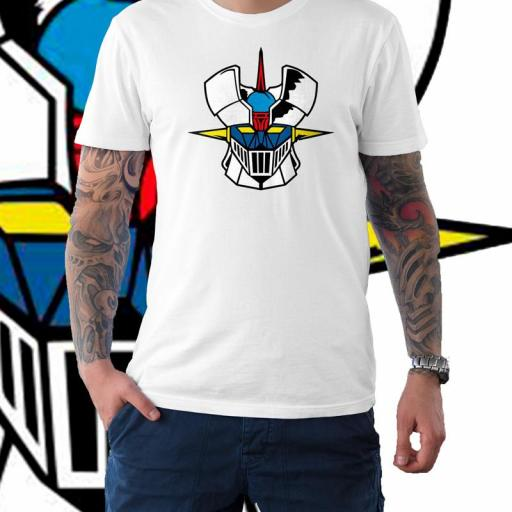 Camiseta Mazinguer Z B/N/R