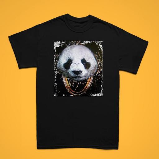 Panda Hombre Negra