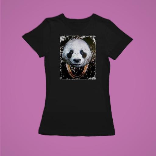 Panda Mujer Negra