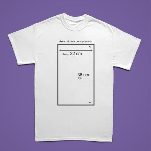 Camiseta BLANCA Personalizada Hombre