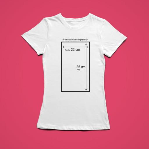 Camiseta BLANCA Personalizada Mujer