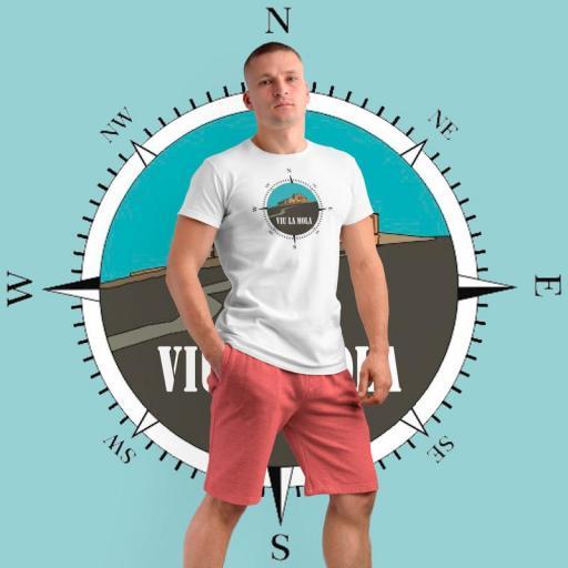 Camiseta TÉCNICA Rosa dels Vents PIT 15