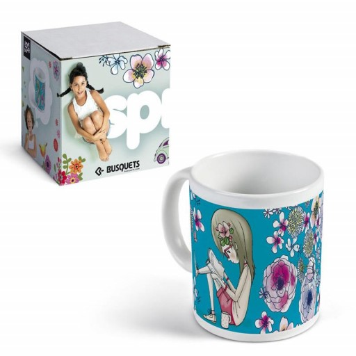 Taza de ceramica PETALS by BUSQUETS