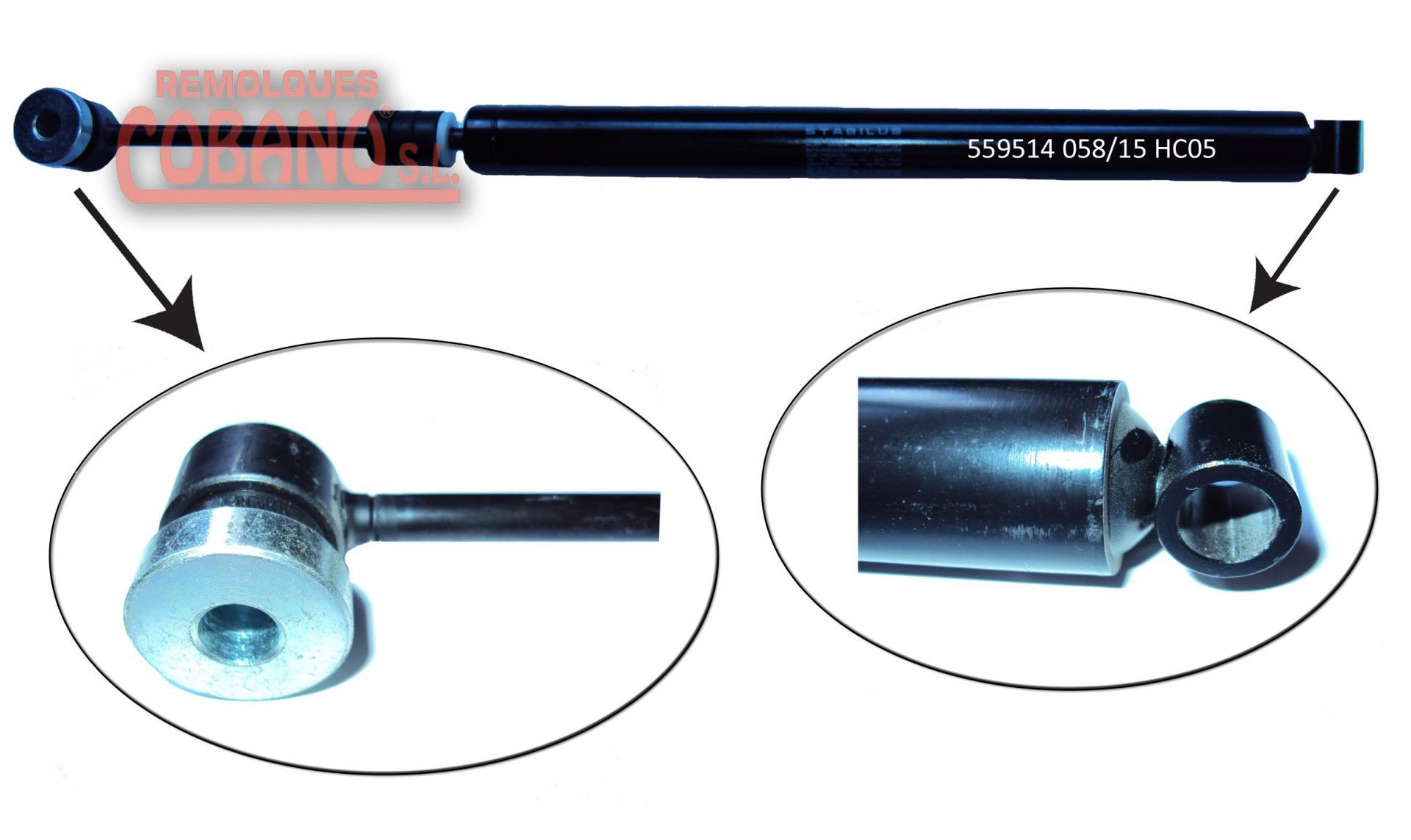 AMORTIGUADOR STABILUS (AXF) 900 / 1500 KG