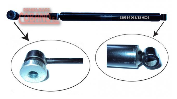AMORTIGUADOR STABILUS (AXF) 1600 KG [0]