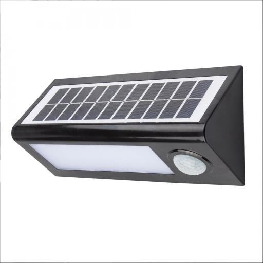 Aplique Solar Led 8w 600 lumenes