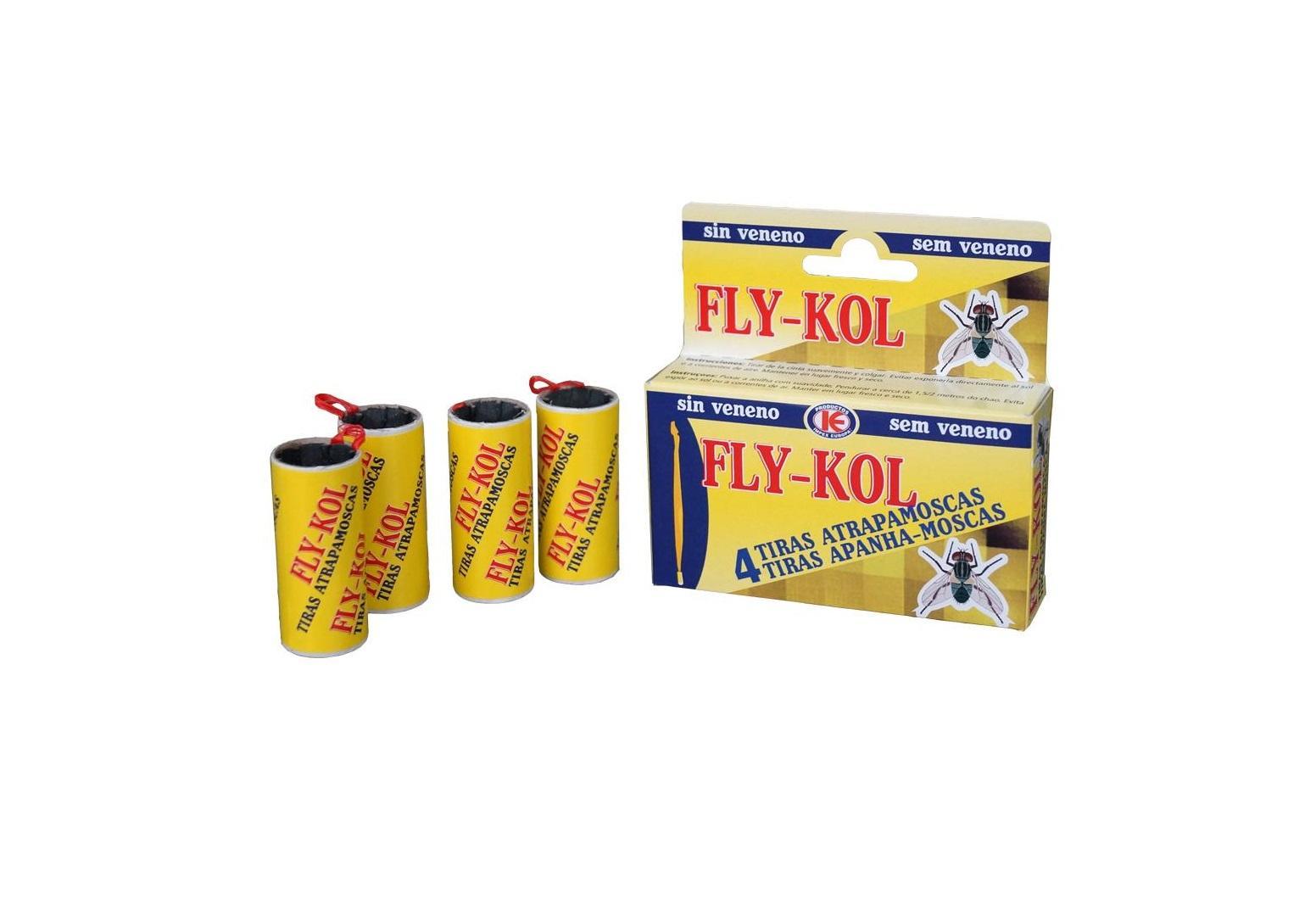 Tira atrapa moscas Fly-Kol