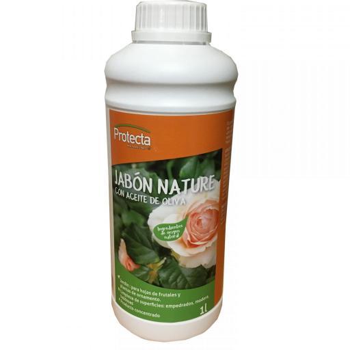 Jabon Nature con aceite de oliva Protecta 1L