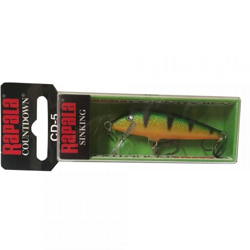 Rapala Countdown Sinking CD05 P Perch
