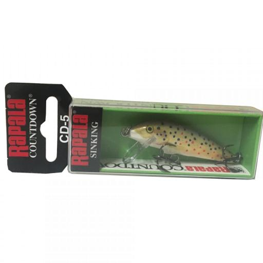 Rapala Countdown Sinking CD05 TR Brown Trout [1]