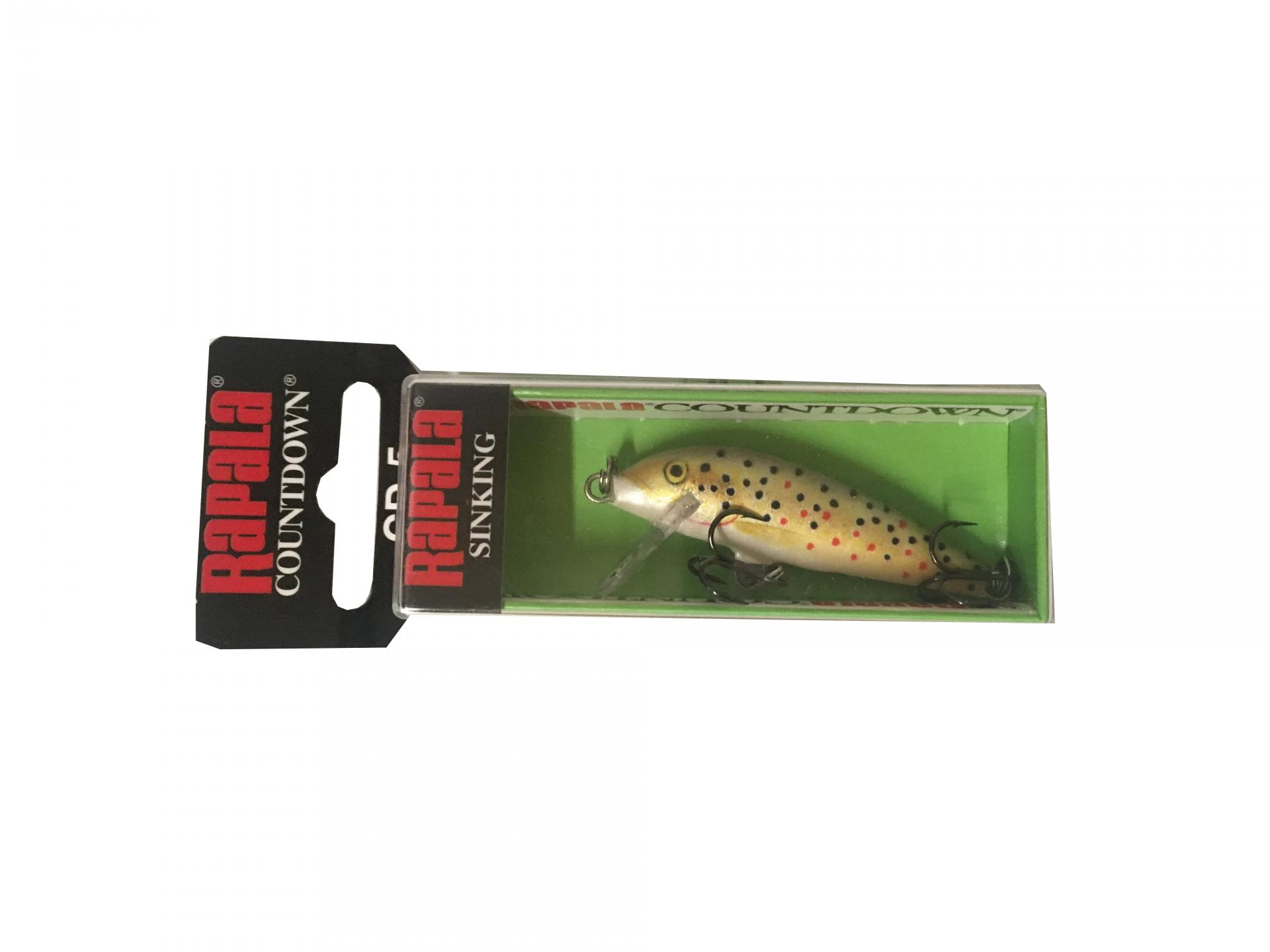 Rapala Countdown Sinking CD05 TR Brown Trout