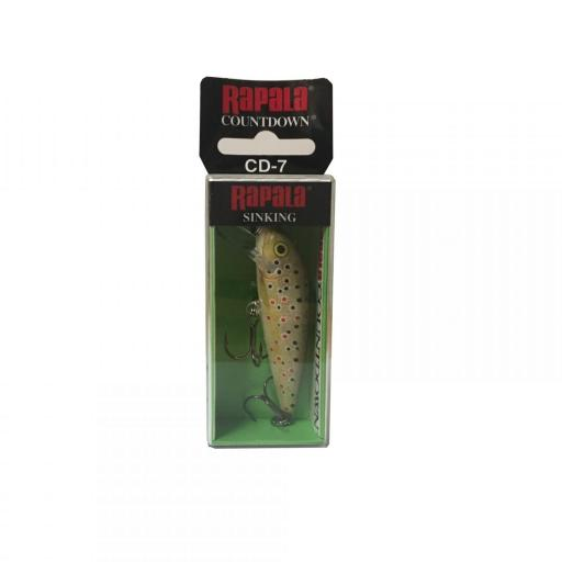 Rapala Countdown Sinking CD07 TR Brown Trout [1]