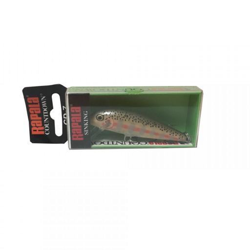 Rapala Countdown Sinking CD07 BJRT Balsa Juvenile Rainbow Trout