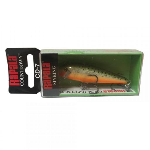 Rapala Countdown Sinking CD07 RFSM Redfin Spooted Minow