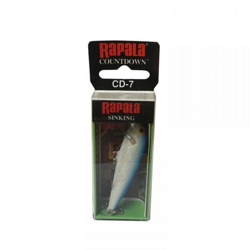 Rapala Countdown Sinking CD07 B Blue [1]