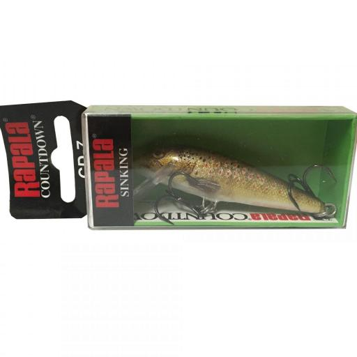 Rapala Countdown Sinking CD07 TRL Live Brown Trout