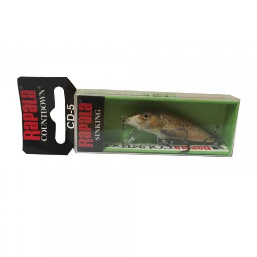 Rapala Countdown Sinking CD05 TRL Live Brown Trout