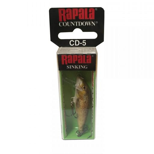 Rapala Countdown Sinking CD05 TRL Live Brown Trout [1]