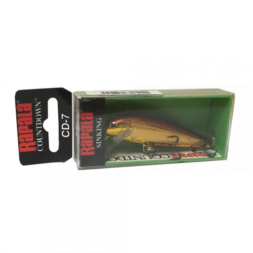 Rapala Countdown Sinking CD07 GALB Golden Alburnus