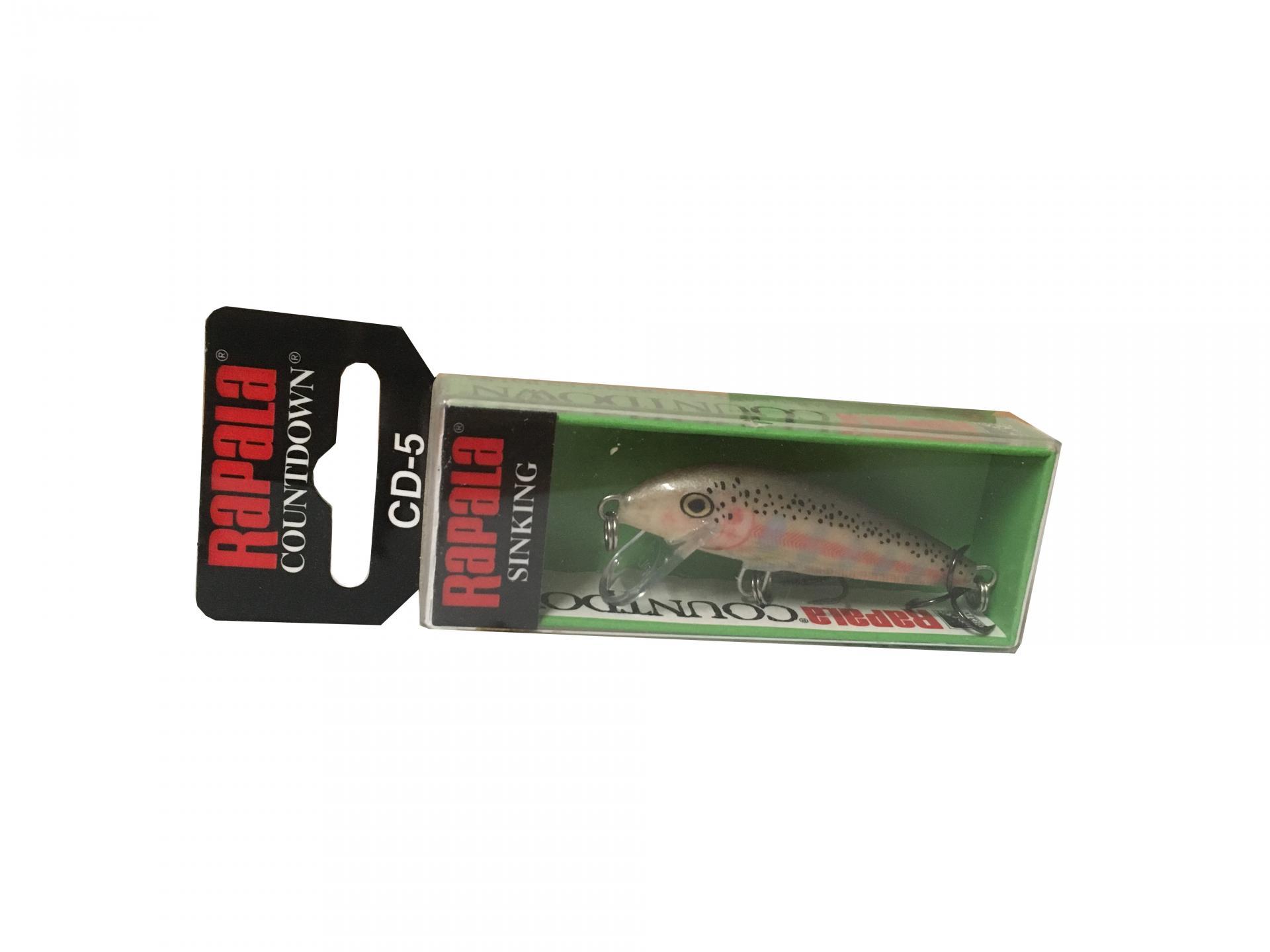 Rapala Countdown Sinking CD05 BJRT Balsa Juvenile Rainbow Trout