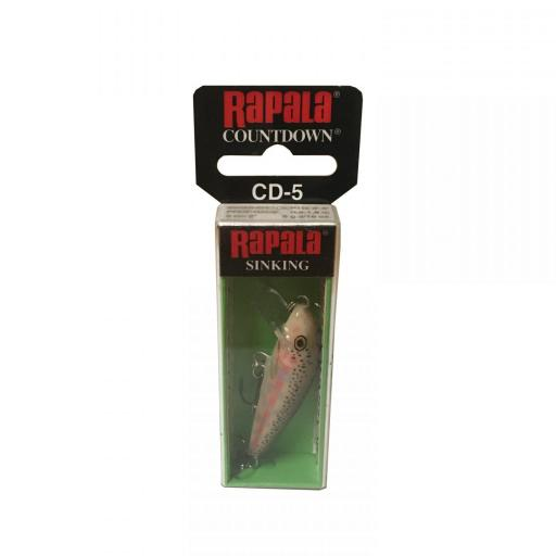 Rapala Countdown Sinking CD05 BJRT Balsa Juvenile Rainbow Trout [1]