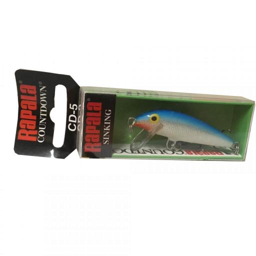 Rapala Countdown Sinking CD05 B Blue