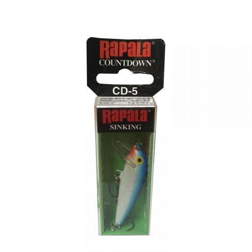 Rapala Countdown Sinking CD05 B Blue [1]