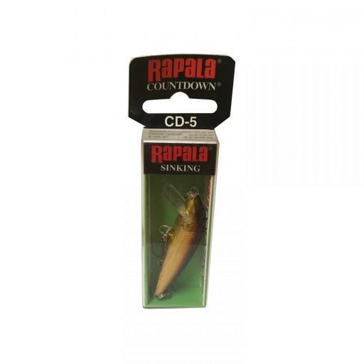 Rapala Countdown Sinking CD05 Galb Golden Alburnus [1]