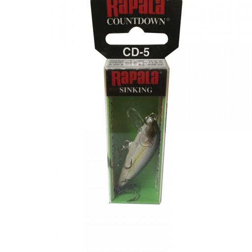 Rapala Countdown Sinking CD05 ALB Bleak [1]