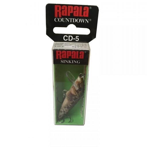 Rapala Countdown Sinking CD05 SCPL Live Sculpin [1]
