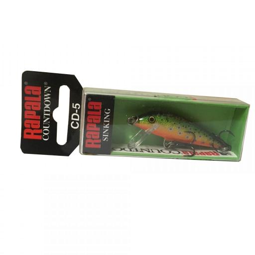 Rapala Countdown Sinking CD05 BTR Brook Trout