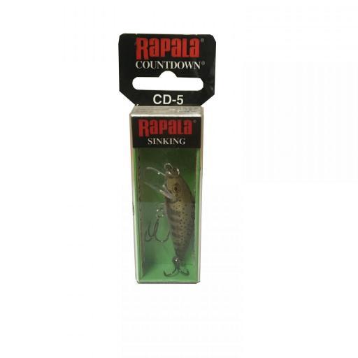 Rapala Countdown Sinking CD05 GJTR Gold Juvenile Trout [1]