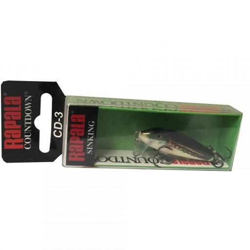 Rapala Countdown Sinking CD03 MN Minnow