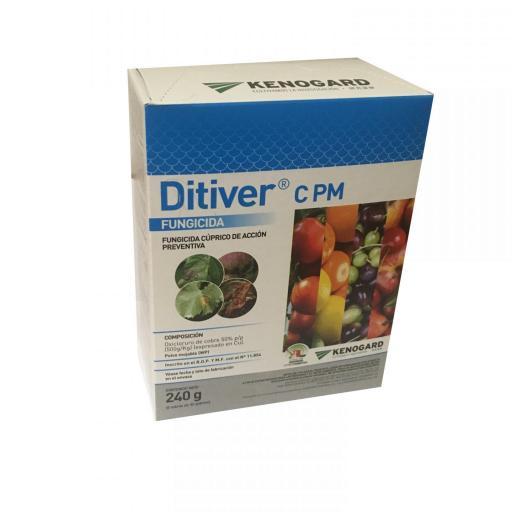 Ditiver Cobre C PM 6x40g