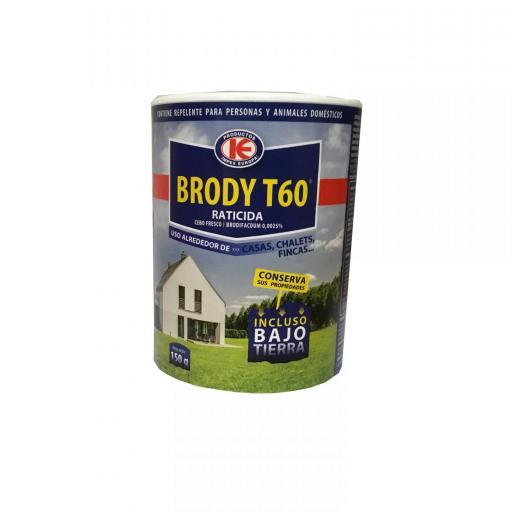 Brody T60 Raticida uso exterior 150g