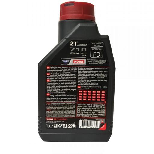 Aceite mezcla Motul 2T 710 [2]