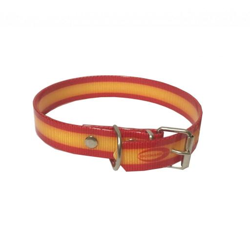 Collar Perro Biothane España 25mm  [0]