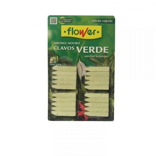 Abono en Clavos para plantas verdes Flower.