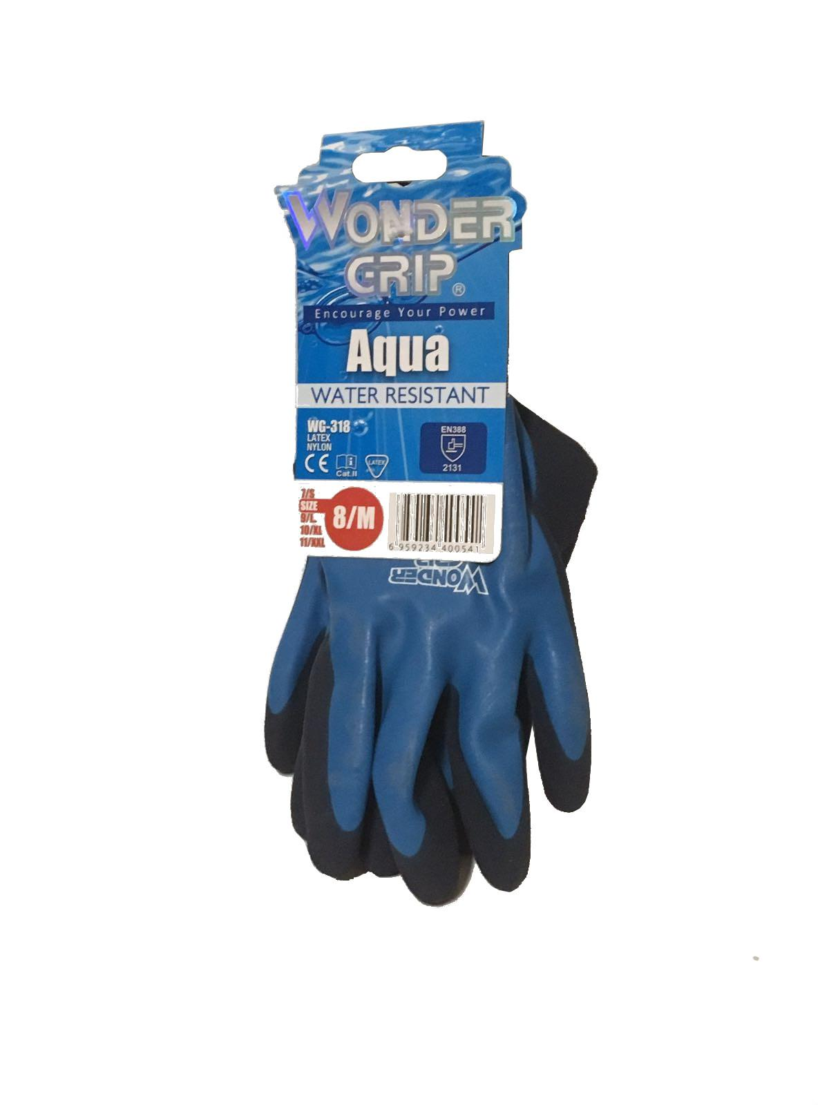 Guante safetop Wonder Grip Aqua
