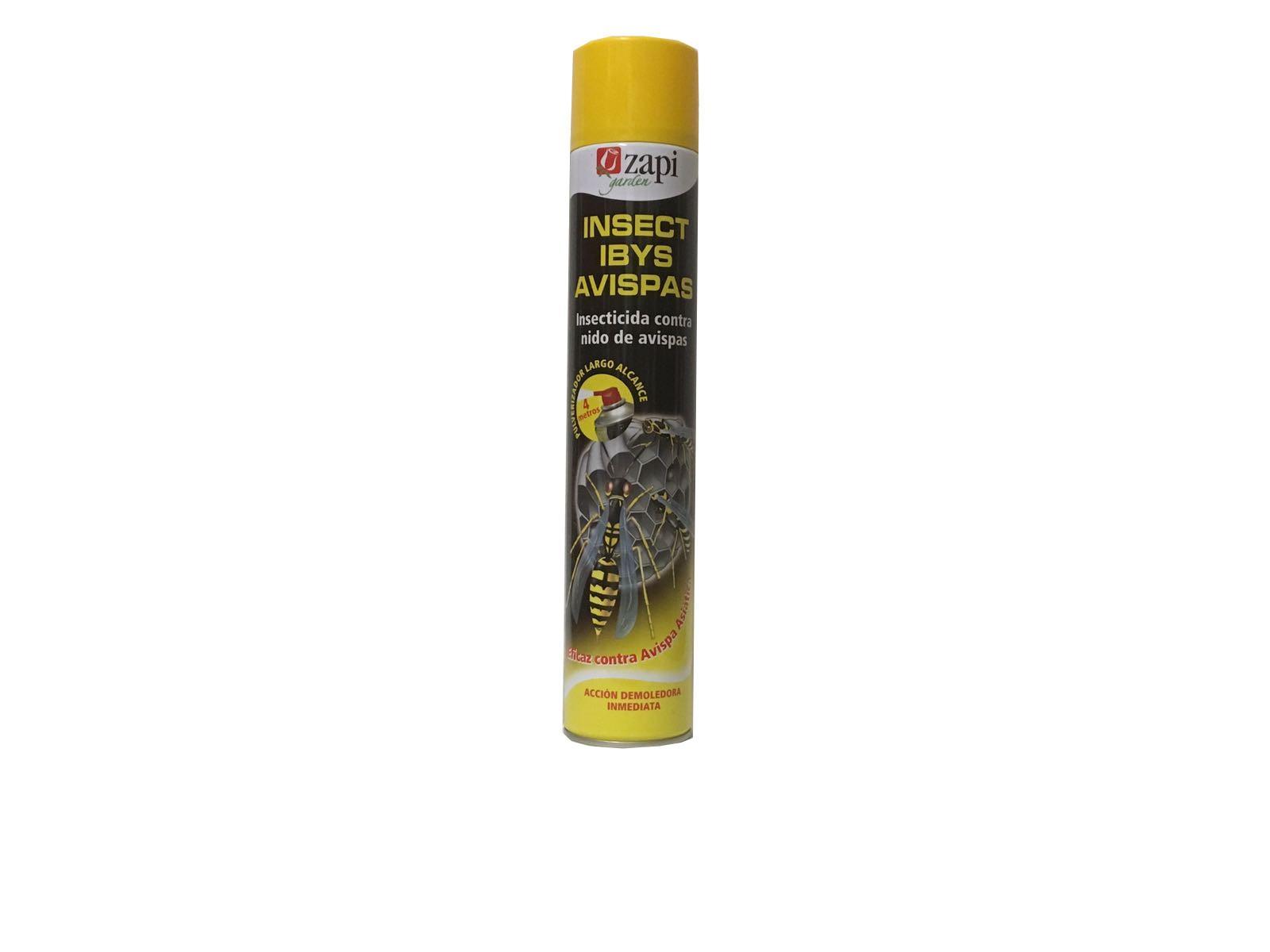 Insecticida Insect IBYS avispas 750ml (Avispa asiática y o velutina)