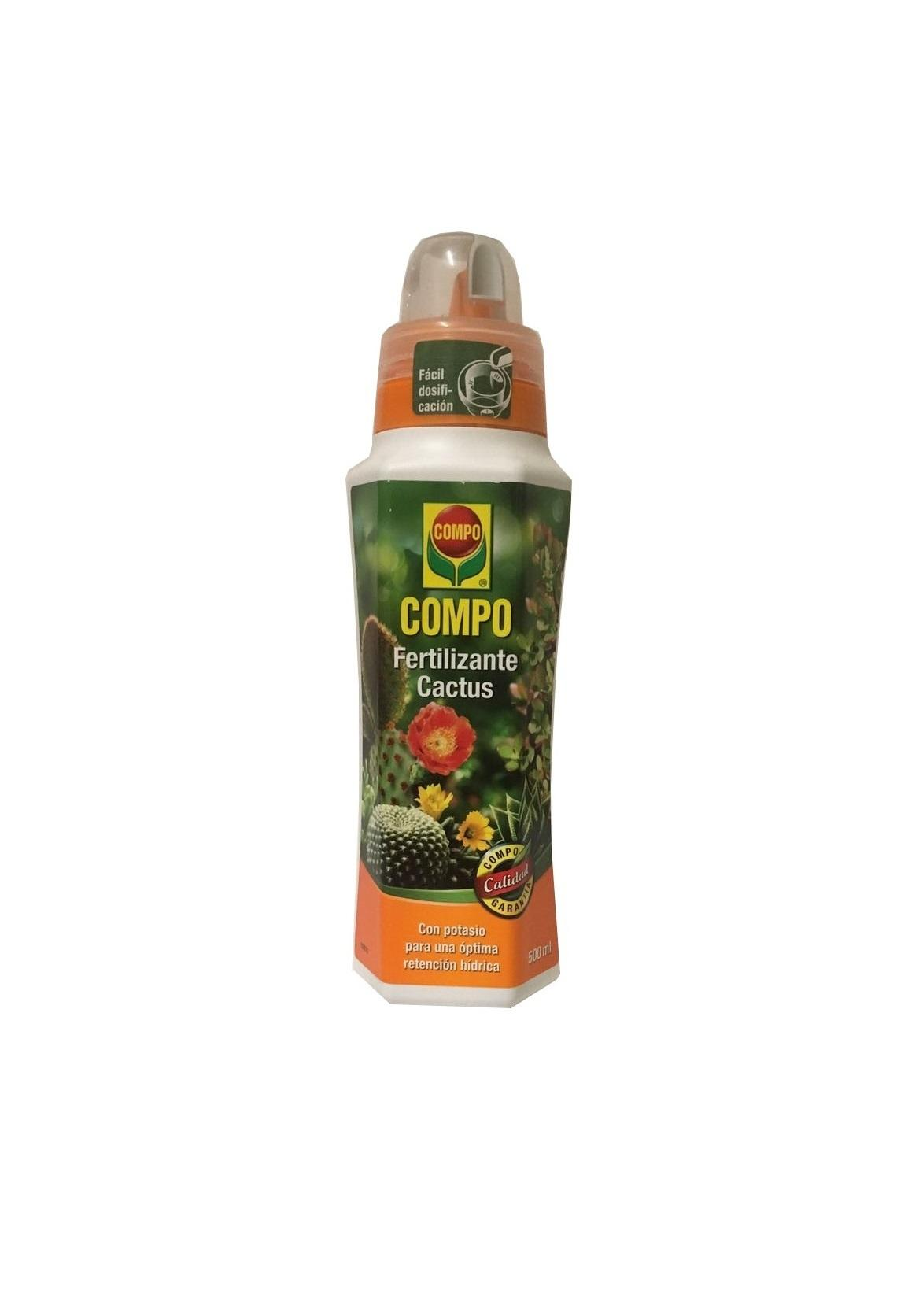 Fertilizante liquido para cactus Compo 500ml