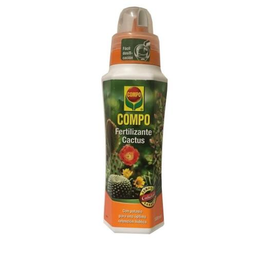 Fertilizante liquido para cactus Compo 500ml [0]