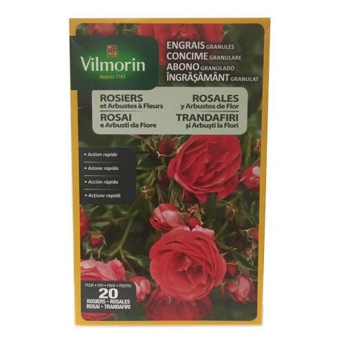 Abono para rosales y arbustos de flor 800gr