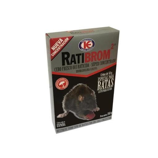 Ratibrom 2 Especial Ratas Superconcentrado 150g
