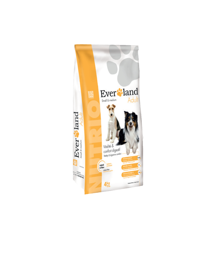 Everland Nutrio Adult Small & Medium 4kg