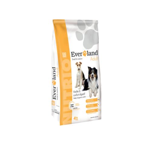Everland Nutrio Adult Small & Medium 4kg [0]